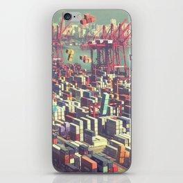 Pier Tetris iPhone Skin