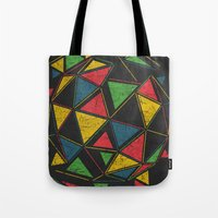 techno Tote Bags featuring Techno by Sitchko Igor