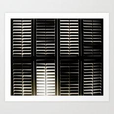 shutter Art Print