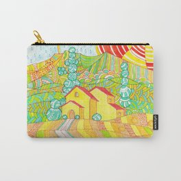 Tuscany, Italy. Doodle landscape Carry-All Pouch
