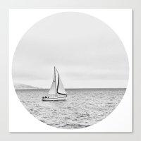 sail Canvas Prints featuring Sail by Colin Jorgen Van Zandbergen