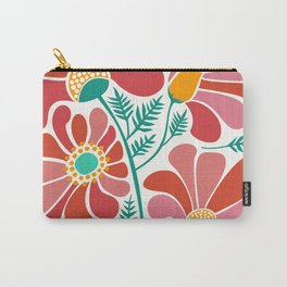 The Happiest Flowers III Carry-All Pouch