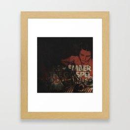 Remember the gospel productivity is king Framed Art Print