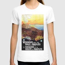 Vesuvius and the Gulf of Naples T-shirt