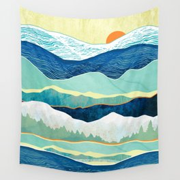 Winter Afternoon Wall Tapestry