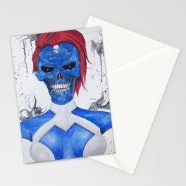 Mystique Skull Stationery Cards