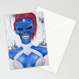Mystique Skull Stationery Cards