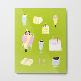 Birthday party Metal Print