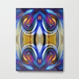 Abstract Quaternity Metal Print