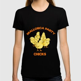 Mallorca Party Chicks Malle T-shirt
