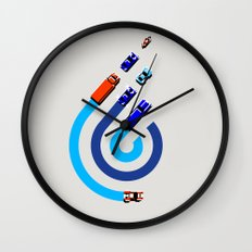 Spy Hunter Wall Clock