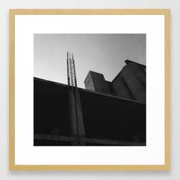 #74Photo #Unfinished #Perspective #BlackAndWhite #Exploring #Archive Framed Art Print