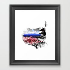 Japan - Fuji Framed Art Print