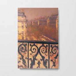 balconi in paris Metal Print