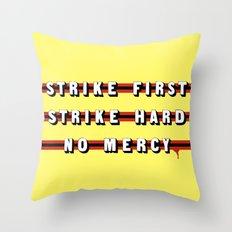 Cobra Kai (Rule of Threes) Throw Pillow