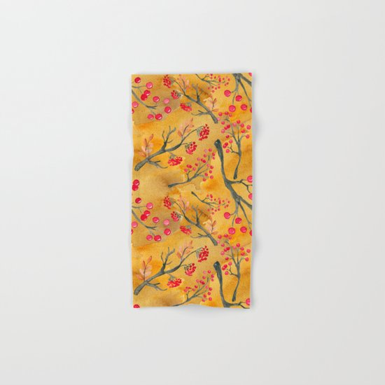 Autumn leaves #12 Hand & Bath Towel