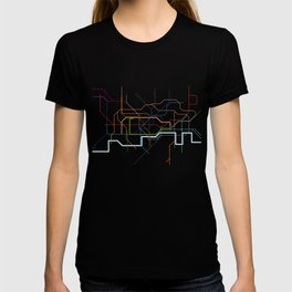 London Tube Map T-shirt