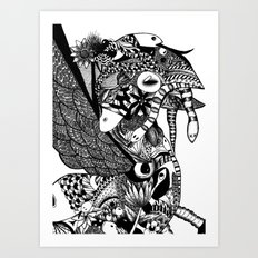Bird of Prey Art Print
