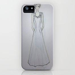 ghost noveau iPhone Case
