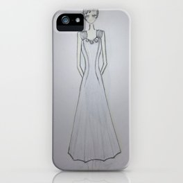 ghost noveau iPhone Case