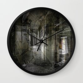 Welcome to the Machine Wall Clock