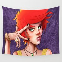 swag Wall Tapestries featuring Swag by _JECR_