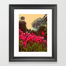 A little piece of paradise Framed Art Print