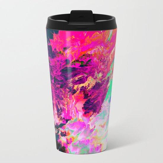 Eudokía (Abstract 42) Metal Travel Mug