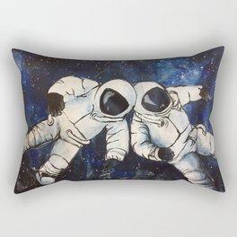 Friends in Space Rectangular Pillow