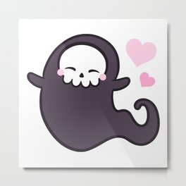 Love Ghost Metal Print