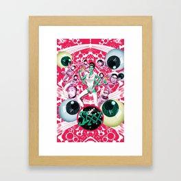SIXX: Supersonic (Pink) Framed Art Print