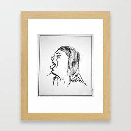 Cackle  Framed Art Print