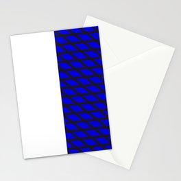 Number 10 - BLUE Stripes Stationery Cards
