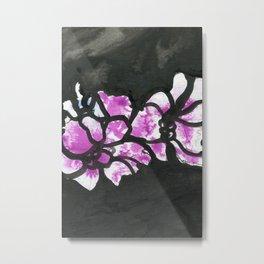Bold floral Metal Print