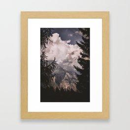 Bergamo Alps II Framed Art Print