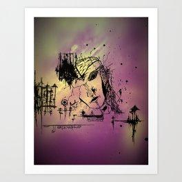 """""""Facade"""" Art Print"""