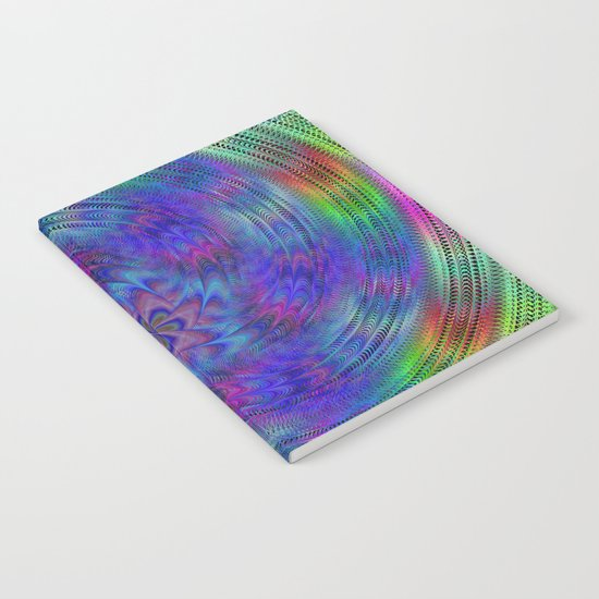Liquid rainbow Notebook