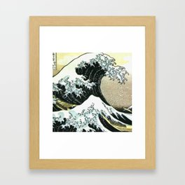 Oasis hollow Framed Art Print