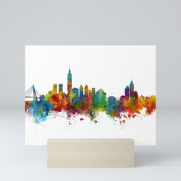 Taipei Taiwan Skyline Mini Art Print
