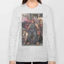 Street Fighter - Villains Long Sleeve T-shirt