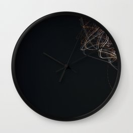 Light Paint 6 Wall Clock