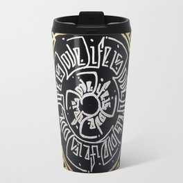 Life is Love Travel Mug