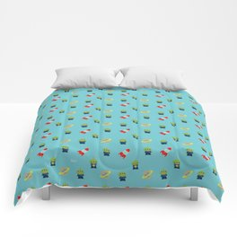 Aliens & Pizza Planet,Toy Story. Comforters