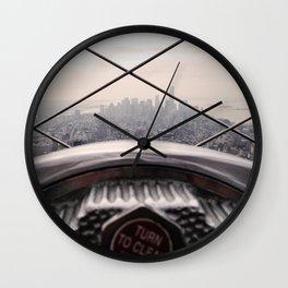 Clarity - NYC Wall Clock