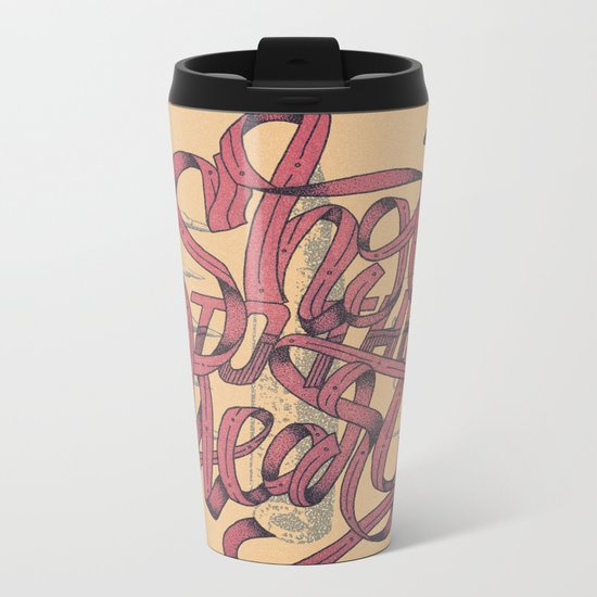 Shot To The Heart Metal Travel Mug