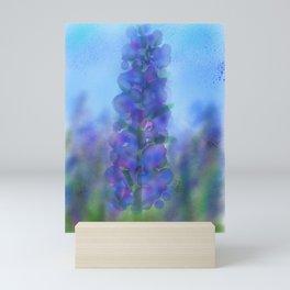 Blue Fire Mini Art Print