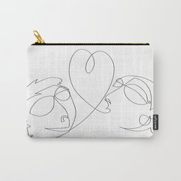 Love at one draw Carry-All Pouch