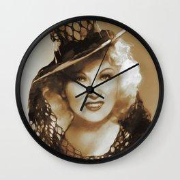 Mae West, Hollywood Legends Wall Clock