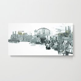 Old Dundee Concept Metal Print