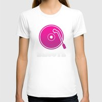 vinyl T-shirts featuring Vinyl by Billy Tester